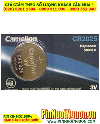 Camelion CR2025 _Pin CR2025 _Pin Camelion CR2025; Pin 3v lithium Camelion CR2025 chính hãng _Viên
