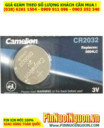 Pin Camelion CR2032 lithium 3v _Pin CR2032 chính hãng _ Giá chỉ 29.000Đ/ Vỉ 5viên