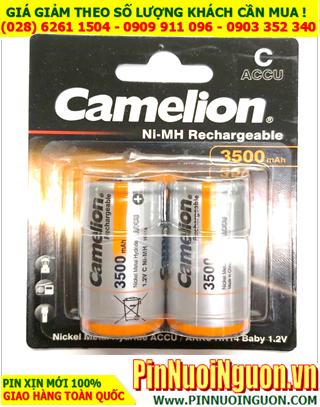 Pin sạc 1.2v C3500mAh; Pin sạc Camelion NH-C3500BP2 (3500mAh 1.2v) _Pin sạc NiMh C3500mAh _Vỉ 2viên