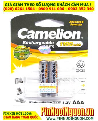 Camelion NH-AAA1100BP2; Pin sạc AAA 1.2v Camelion NH-AAA1100BP2 (AAA1100mAh) _Vỉ 2viên