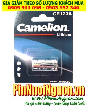 Pin CR123A, CR17345; Pin Camelion CR123A-BP1 PhotoLithium _ Vỉ 1viên