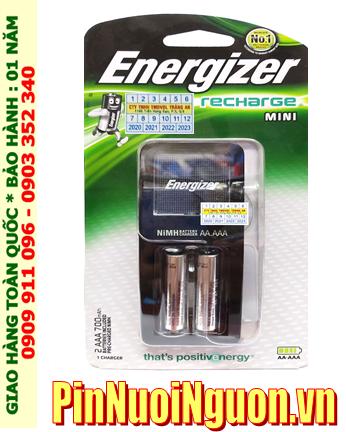 Energizer CH2PC3; Bộ sạc pin AAA Energizer CH2PC3 _ Máy sạc 2 rảnh _kèm sẳn 2 pin sạc Energizer AAA700mAh 1.2v chính hãng