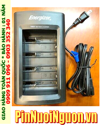 Energizer CHFC; Máy sạc pin Energizer CHFC đa năng 8 khe _sạc được tất cả cỡ pin và từ 1,2,3,4,5,6,7,8