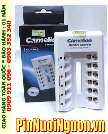 Camelion BC-1041; Máy sạc Pin Máy ảnh Camelion BC-1041 _06 khe sạc _Sạc được 2-4-6 Pin AA-AAA