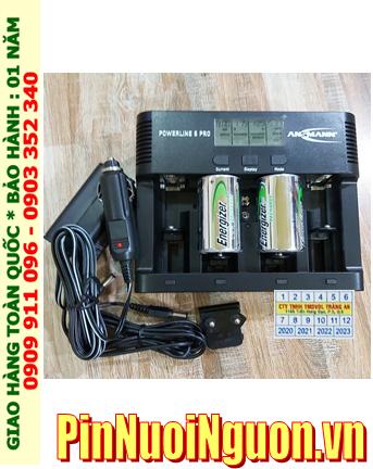 Powerline 5Pro_Bộ sạc pin Powerline 5Pro kèm 2 pin sạc D Energizer NH50-BP2 (D2500mAh 1.2v)