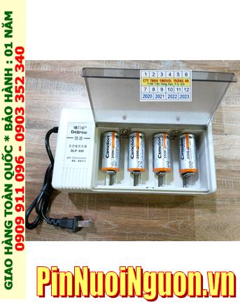 Delipow DLP-808 _Bộ sạc pin DLP-808 kèm 4 pin sạc C Camelion NH-C2500BP2 (C2500mAh 1.2v)
