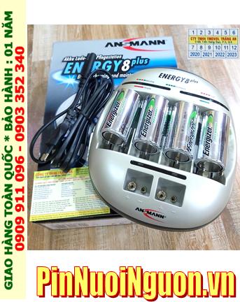 Energy 8Plus _Bộ sạc Pin Energy 8Plus kèm 4 pin sạc C Energizer NH35-BP2 (C2500mAh 1.2v)