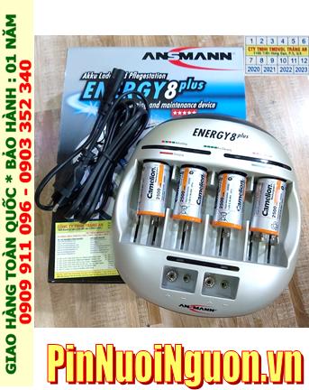 Energy 8Plus _Bộ sạc Pin Energy 8Plus kèm 4 pin sạc C Camelion NH-C2500BP2 (C2500mAh 1.2v)
