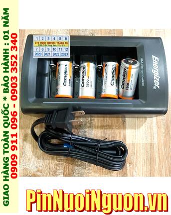 Energizer CHFC3; Bộ sạc pin Energizer CHFC3 kèm 4 pin sạc Camelion NH-C2500BP2 (C2500mAh 1.2v)