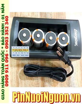 Energizer CHFC3; Bộ sạc pin Energizer CHFC3 kèm 4 pin sạc Camelion NH-D10 000BP2 (D10 000mAh 1.2v)