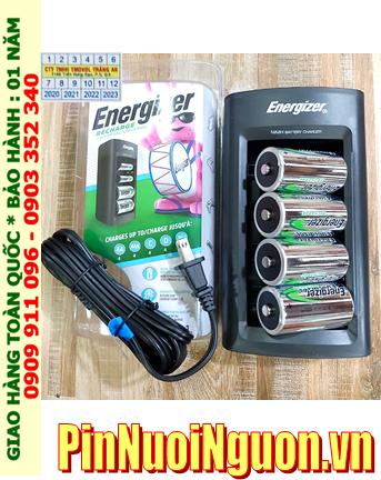 Energizer CHFC3; Bộ sạc pin Energizer CHFC3 kèm 4 pin sạc Energizer NH50-BP2 (D2500mAh 1.2v)