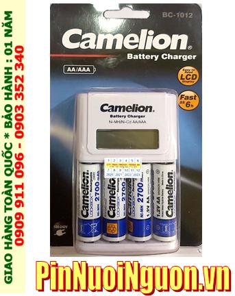 Camelion BC-0904SM _Bộ sạc pin BC-1012 kèm 4 pin sạc Camelion NH-AA2700LBP2 (AA2700mAh 1.2v)