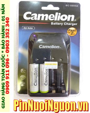 Camelion BC-0905A _Bộ sạc 2giờ BC-0905A kèm 2 pin sạc Camelion NH-AA2500ARBP2 (AA2500mAh 1.2v)