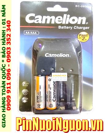 Bộ sạc pin AA Camelion BC-0905A kèm 2 pin sạc Camelion NH-AA2700BP2 (AA2700mAh 1.2v)