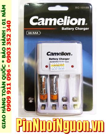 Bộ sạc pin AAA Camelion BC1010 kèm 2 pin sạc Camelion NH-AAA1100BP2 (AAA1100mAh 1.2v)