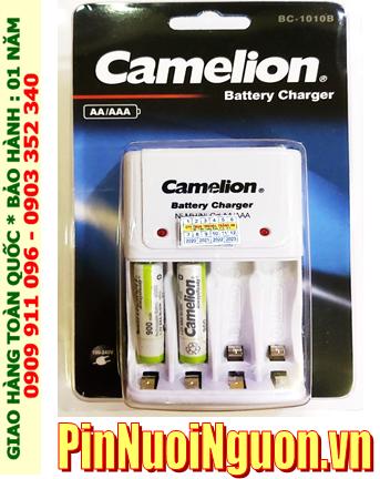 Bộ sạc pin AAA Camelion BC1010 kèm 2 pin sạc Camelion NH-AAA900ARBP2 (AAA900mAh 1.2v)