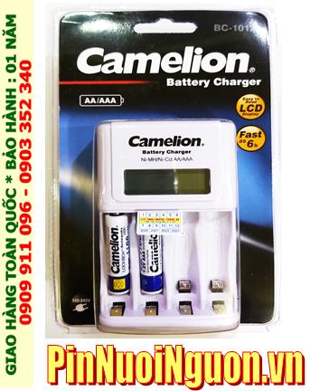 Bộ sạc pin AAA Camelion BC-1012 kèm 2 pin sạc Camelion NH-AAA1100LBP2 (AAA1100mAh 1.2v)
