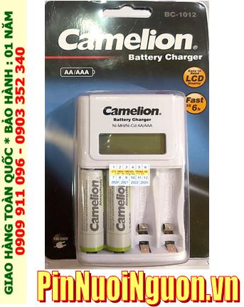 Camelion BC-1012 _Bộ sạc pin BC-1012 kèm 2 pin sạc Camelion NH-AA2300ARBP2 (AA2300mAh 1.2v_