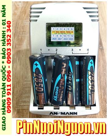 Ansman Photocam IV; Bộ sạc pin Máy ảnh AA Ansman Photocam IV kèm sẳn 4 pin sạc Ansman AA2850mAh 1.2v