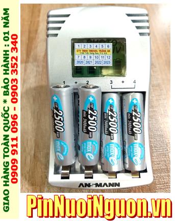 Ansman Photocam IV; Bộ sạc pin Máy ảnh AA Ansman Photocam IV kèm sẳn 4 pin sạc Ansman AA2500mAh 1.2v