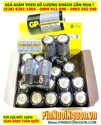 COMBO 1HỘP 20VIÊN Pin đại D 1.5v GP Supercell 13S R20P Super Heavy Duty _Giá chỉ 149.000/HỘP