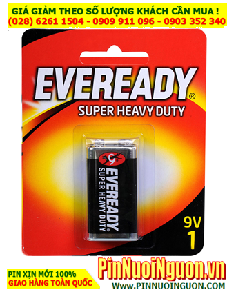 Pin Eveready 1222-BP1 ; Pin 9v Eveready 1222-BP1 Heavy Duty _ Made in Singapore _Vỉ 1viên