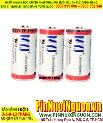Pin ER17330 _Pin MYJ ER17330; Pin nuôi nguồn MYJ ER17330 lithium 3.6v 2/3A 1800mAh _Xuất xứ China