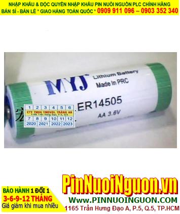 Pin ER14505 _Pin MYJ ER14505; Pin nuôi nguồn MYJ ER14505 lithium 3.6v AA 2400mAh _Xuất xứ China