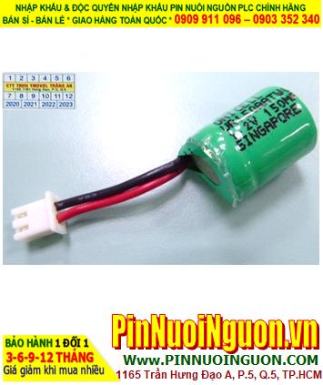 TIMER 1.2V 150mAh _Pin nuôi nguồn thiết bị hẹn giờ National TB11802457 for TB118 Timer (1.2v 150mAh 1/3AA)
