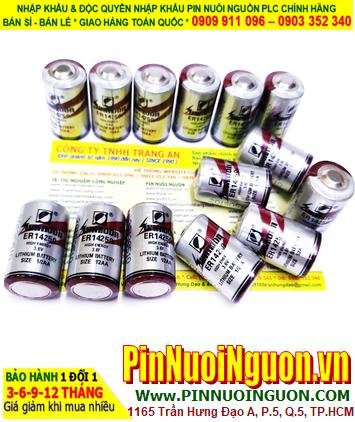 SUNMOON ER14250 _Pin nuôi nguồn TIMER SUNMOON ER14250 lithium 3.6v 1/2AA 1200mAh