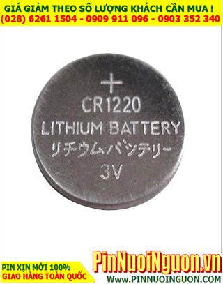 Pin CR1220 _Pin cells Industrial CR1220 _Made in China  | TẠM HẾT HÀNG