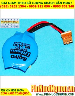 Pin ML2430 Pin Sanyo ML2430; Pin sạc 3v lithium Sanyo ML2430 _Made in Japan