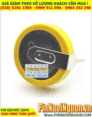 Pin CMOS CR2430; Pin CMOS CR2430 lithium 3v _ có chân thép như hình