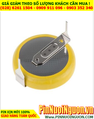 Pin CMOS CR2025; Pin CMOS CR2025 lithium 3v _ có chân thép như hình