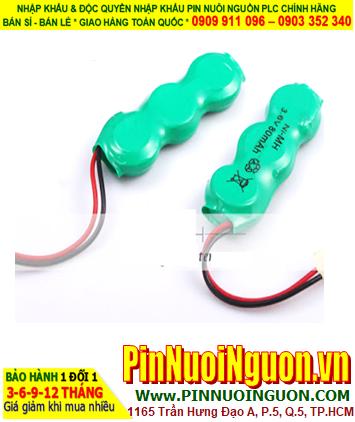Pin CMOS 3/V15H _Pin sạc NiMh 3/V15H (3.6V 15mAh ) Zắc cắm CMOS
