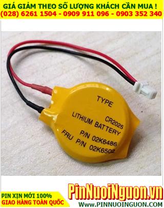 CMOS CR2025; Pin nuôi nguồn CMOS máy tính SONY CR2025 lithium 3.0v