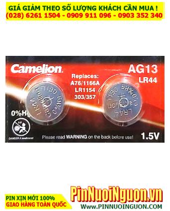 Pin AG13 LR44 A76; Pin cúc áo 1.5v Alkaline Camelion AG13-LR44-A76