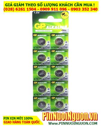 COMBO vỉ 10viên Pin GP A76,LR44, AG13 _Giá chỉ 65.000vnd/ Vỉ 10viên