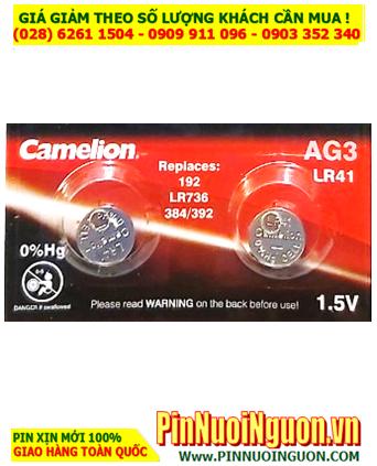 Pin Camelion AG3 LR41 _Pin cúc áo 1.5v Alkaline Camelion AG3, LR41