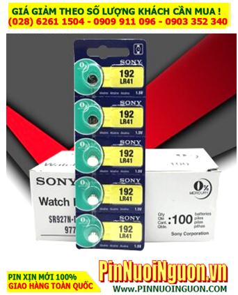 COMBO 1vỉ 5viên Pin SONY LR41 AG3 392 Alkaline 1.5v _Giá chỉ 1.098.000/100viên