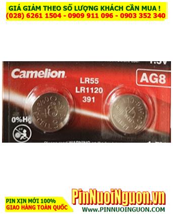 Camelion AG8, LR1120, 391 _Pin cúc áo 1.5v Alkaline AG8, LR1120, 391 | HẾT HÀNG