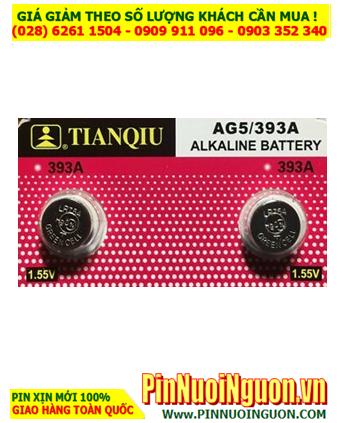 Tianqiu AG5 LR754 _Pin cúc áo 1.5v Alkaline Tianqiu AG5 LR754  LR48 393A