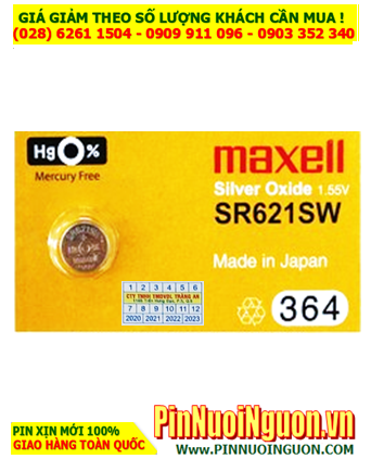 Maxell SR716SW _Pin 315; Pin đồng hồ Maxell SR716SW 315 silver oxide 1.55v _Made in Japan
