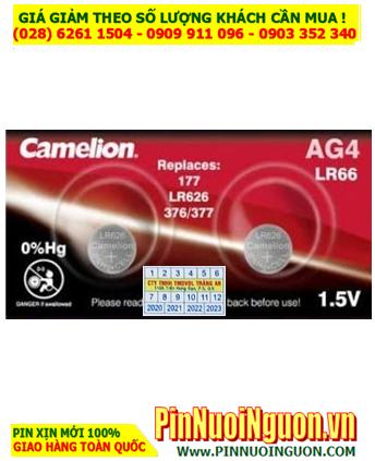 Camelion  AG4 _Pin SR626SW; Pin Camelion AG4 SR626SW Alkaline 1.5v   HẾT HÀNG