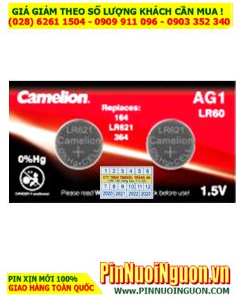 Camelion AG1 _Pin SR621SW; Pin Camelion AG1 SR621SW Alkaline 1.5v  HẾT HÀNG