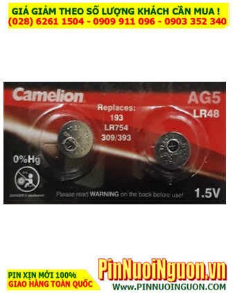 Camelion AG5 _Pin LR754; Pin Camelion AG5 LR754 Alkaline 1,5v    HẾT HÀNG