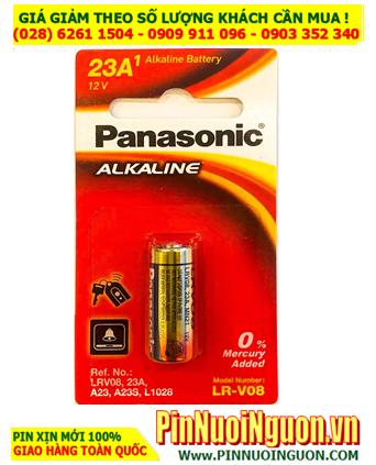 Pin chuông cửa Panasonic A23 alkaline 12v; Pin chuông báo động 12v Panasonic A23