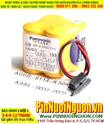 Panasonic BR-2/3AGCT4A; Pin nuôi nguồn Panasonic BR-2/3AGCT4A lithium 6v _Xuất xứ Nhật