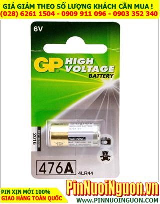 GP 4LR44, PX28A; Pin vòng đeo cổ thú cưng  Alkaline 6.0v GP 4LR44 High Votage