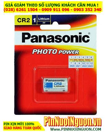 Pin máy đo nồng độ khí than _ Pin 3.0v Lithium Panasonic CR2 (Made in Indonesia)